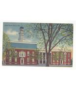 DE Dover Delawarer State House Vintage Tichnor Linen Postcard - $5.52