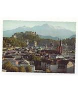 Austria Festspielstadt Salzburg Panoramic View Vtg Herndl Photo Postcard... - $4.99