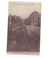 WWI France Chateau Thierry Carnot Street After Bombardment c 1918 Postcard - $4.84