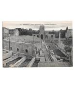 France Arles Theatre Antique Ancient Roman Theater Ruins Vtg Postcard - $5.52