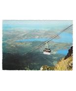 Switzerland Luftseilbahn Cable Car Gondola Alps Pilatus-Kulm Postcard 4X6 - $6.49
