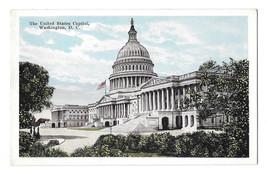 Washington DC United States Capitol Vtg Garrison Toy & Novelty Postcard - $6.49