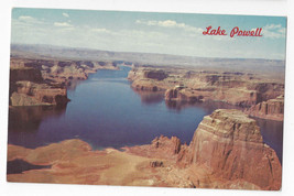 AZ Lake Powell Glen Canyon National Recreation Area Vtg 1968 Petley Post... - $4.84