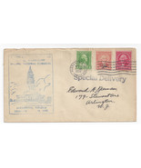 1932 Masonic Memorial Dedication Alexandria VA Washington Bicentennial S... - $4.84