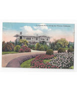California Home among the Flowers Hechts Quality Cards Postcard ca 1920 - $6.49