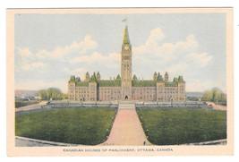 Canada Ottawa Houses of Parliament Vtg PECO Postcard - $4.99