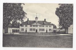 VA Mount Vernon West Front Home of George Washington Vintage Postcard - $4.99