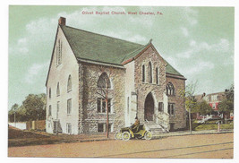 West Chester PA Olivet Baptist Church Biehn Repro Postcard 1999 4X6 - $5.52