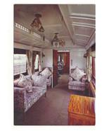 UK Train Royal Saloon Car Interior London North Western Railway RR Postc... - $8.99