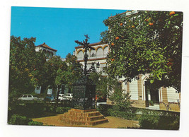 Spain Sevilla Seville Plaza de Santa Cruz Vtg Postcard 4X6 - $4.99