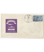 USS Frank Knox DD-743 Destroyer Navy Day 1946 Cachet Naval Cover - $4.99