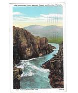 WY Pathfinder Canon Platte River between Casper and Rawlins Vtg Postcard... - $5.52
