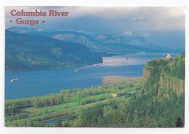 Columbia River Gorge Crown Point Oregon Washington 1994  Postcard 4x6 - $5.52