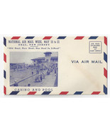 NAMW 1938 National Air Mail Week Deal NJ Casino Photo Cover Unused - €4,09 EUR