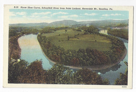 PA Reading Schuylkill River Horseshow Curve Lookout Point Neversink Mt P... - $5.52