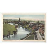 UK Stratford on Avon from the Memorial Vtg Autochrom Postcard ca 1910 - $6.49