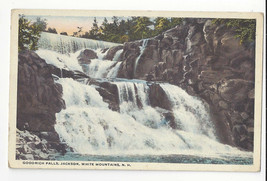 NH White Mountains Jackson Goodrich Falls Vntg Atkinson Postcard Waterfall - $5.52