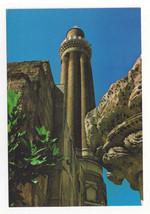 Turkey Antalya Yivli Fluted Minaret Mosque Vtg Postcard 4X6 - $4.84