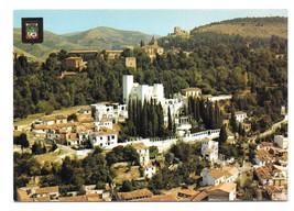 Spain Granada Sus Carmenes Aerial View Vtg Postcard 4X6 - $5.52