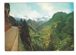 Portugal Madeira Cruzinhas do Faial View Vtg Postcard 4X6 1971 - $5.52