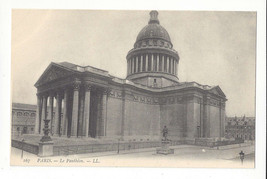 France Paris Le Pantheon Mausoleum Vtg Lucien Levy Postcard ca 1910 - $5.52