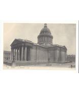 France Paris Le Pantheon Mausoleum Vtg Lucien Levy Postcard ca 1910 - $4.99