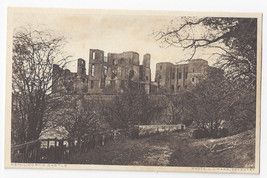UK England Kenilworth Castle J.J. Ward Photo Vtg Postcard - $5.52