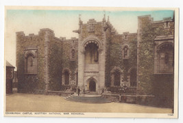 UK Scotland Edinburgh Castle Scottish National War memorial Photochrom P... - $5.52