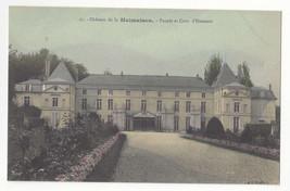 France Chateau Malmaison Facade et Cour d'Honneur L'Abeille Postcard c 1910 - $5.52