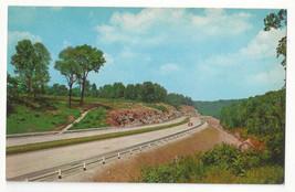 KY Kentucky Turnpike Highway Interstate Rte I-65 Curteich 1956 Postcard K1999 - $5.52