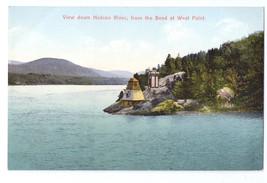 NY Hudson River Bend at West Point ca 1910 Vintage Postcard - $4.99