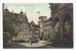 Germany Heidelberg Schloss Schlosshof Vtg Fischer Krmaer Postcard c 1910 - $4.99