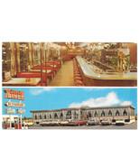 Flemington NJ Circle Diner Split View Vintage Postcard New Jersey Vince ... - $6.49