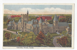 Canada University Toronto Vintage Valentine and Sons ca 1920 Postcard - $6.49