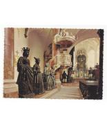 Austria Innsbruck Hofkirche Interior Maximilian Statues Vtg Postcard 4X6 - $4.84
