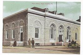 West Chester PA Post Office Biehn Bicentennial Repro Postcard 1999 4X6 - $4.99