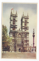 Dixon Westminster Abbey London Vintage Colorgravure Postcard - $6.69