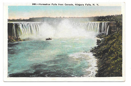 Canada Niagara Falls Horseshoe Falls Vtg Postcard - $6.49