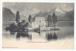 Switzerland Ile de Clarens Dent du Midi Vtg UDB Photoglob Postcard c 1905 - $5.52