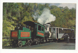 NH Mt Washington Cog Railway White Mountains New Hampshire Vtg Postcard - $6.49