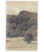 NH RPPC Franconia Notch Indian Head White Mountain Vtg Real Photo Postcard - $4.84