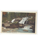 NH White Mountains North Conway Dianas Bath Vtg Postcard - $4.84