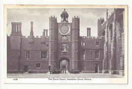 UK London Hampton Court Palace Clock Tower Vtg G&P Postcard c1910 - $6.49