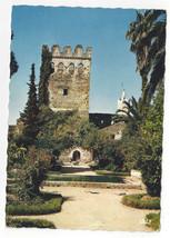Morocco Maroc Chechaouen Kasbah Gardens Jardins Vtg Postcard 4X6 - $6.49