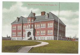 West Chester PA Gay Street School Biehn Bicentennial Repro Postcard 1999... - $5.62