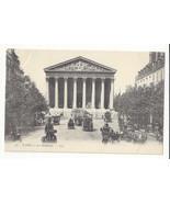 France Paris La Madeleine Cars Trucks Horse Carriages Vtg L Levy UDB Pos... - $5.99
