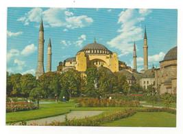 Turkey Istanbul Saint Sophia Museum Aya Sofya Muzesi Vtg Postcard 4X6 - $5.62