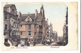 Scotland Edinburgh John Knox's House Vtg ca 1905 Postcard - $5.52
