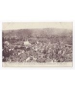 France Verdun WWI Meuse Aerial View College District Cathedral c 1917 Po... - $6.99