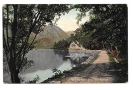 Scotland Loch Katrine Path Stirling Vtg 1909 Valentines UDB Postcard - $5.52